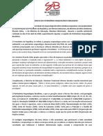 Nota em defesa do patrimônio arqueológico brasileiro