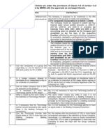 Elaboration of Provisions 1