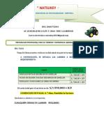 COTIZACION PREPARACION PALTO FDO ZAÑA-TALSA