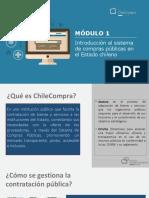 Módulo 1_Introducción al sistema de compras públicas en el estado chileno