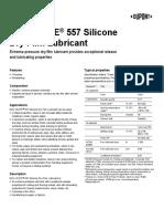 MOLYKOTE 557 Silicone Dry Film Lubricant 10-808C-01