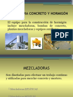 MEZCLADORAS Y PAVIMENTADORAS