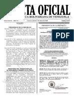 Gaceta Oficial N° 41.841