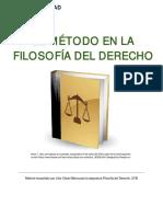 Unidad 3. Recurso 1. Lectura El Método en la Filosofía del Derecho