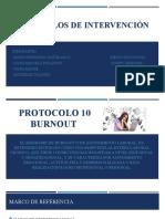 Protocolos de intervención riesgo psicosocial