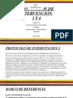 PROTOCOLOS DE INTERVENCIÓN 2020