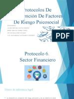Protocolos De Intervención De Factores De Riesgo Psicosocial