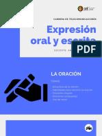 expresion oral y escrita tema 2