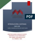 Introduccion a sistemas CAD-CAE - Jonathan Andres Gonzalez Velasco.pdf