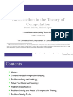 Intro Theory Comp Review