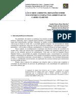 Resumo Exp. - Globalização e Meio Ambiente - Reflexões sobre Crescimento Econômico e Impactos Ambientais no Cariri Cearense