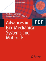 Advances in bio-mechanical systems and materials Ashkan Javadzadegan
