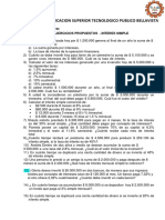 EJERCICIOS DE INTERES SIMPLE 2020