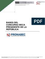 202005 - Bases del concurso - Beca Presidente de la República