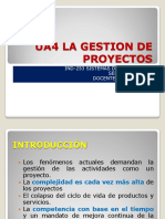 UA4 LA GESTIÓN DE PROYECTOS