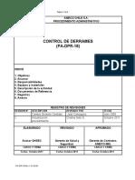 PA-DPR-18 Cont de derrame 2012
