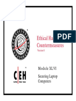 CEHv6 Module 46 Securing Laptop Computers
