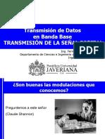 Clase 11_Transmisión de Señales Digitales en Banda Base