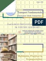 Transport Fundamental