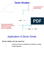 Zener Diode Appliations