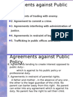Legality of Object and Void Agreements