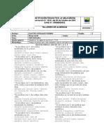 TALLER DE AUSENCIA HOMOFONAS  C S X Z-9