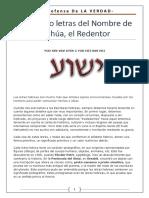 Las cuatro letras del nombre de Yeshúa.pdf