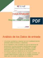 Ajustar Datos - Input Analyzer