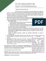 0.1 TINCIONES DE USO FRECUENTE EN MICROBIOLOGIA Y CITOTECNOLOGIA