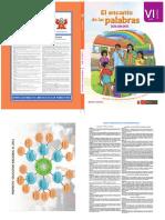 El encanto de las palabras guía docente del cuaderno de nivelación de competencias comunicativas. VI ciclo Secundaria.pdf