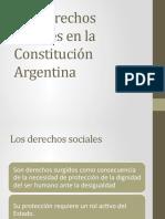 Los derechos sociales en la Constitucion Argentina.pptx
