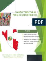 Sistema Tributario Peru, Ecuador y Bolivia