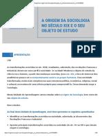 A origem da Sociologia.pdf