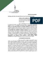 FORMALIZACION DENUNCIA ROBO AGRAVADO 98 - 15