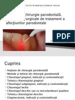 Chirurgie parodontala