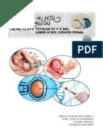 Manipulación genética y lesiones al feto