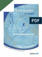 Profil Entrepreneurial