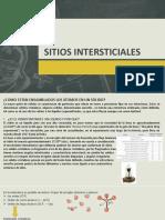 SITIOS INTERSTICIALES (PARTE B)