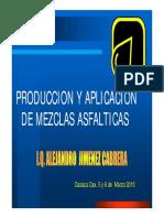 FABRICACION Y TENDIDO DE MEZCLAS ASFALTICAS