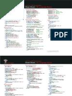 Cheat Sheet - VB Language Basics
