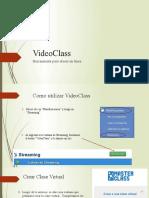 VideoClass para docentes