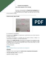 Proyecto De investigación - Tutoria Mayo 21 - Camila Torres