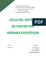 informe de contabilidad de costo LM