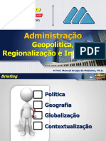 2-3s Geopolitica, Regionalizacao e Integracao (Apostila)