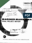 Mariner-Mars 1964 Final Project Report