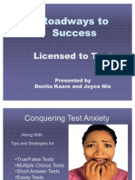 Conquering Test Anxiety (Ppt)