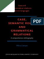 CAMPE. Case semantic roles and grammatical relations a comprehensive bibliography.pdf