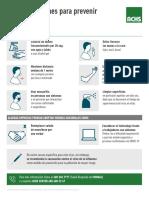 Achs Afiche Imprimible Con Recomendaciones Preventivas