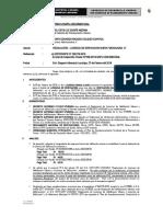 INFORME N° 110-2018 RESOLUCION LICENCIA  vivienda unifamiliar LOURDES MINGA CJURO
