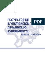 Informe proyectos I+D